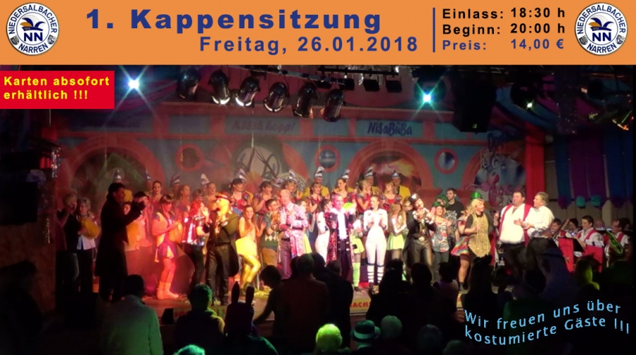 1Kappensitzung